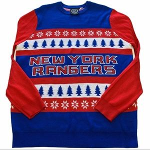 NY Rangers Men's XL Sweater Official NHL Licensed